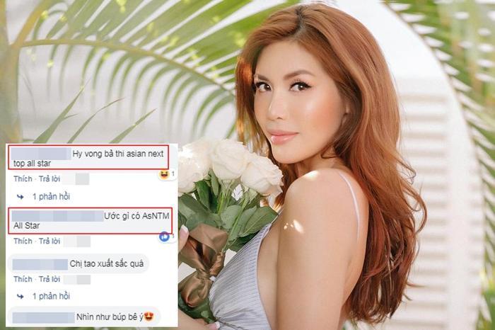 Các fan thầm ước Minh Tú tham gia Asia's Next Top Model mùa giải All-Stars.