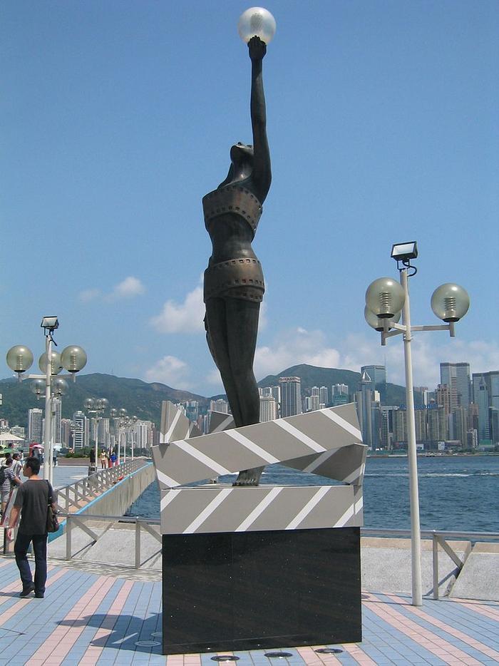 Biểu tượng của Giải thưởng Điện ảnh Hồng Kông, giải thưởng chính thức của điện ảnh Hồng Kông.
