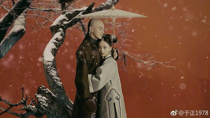 Thuở xưa có ngọn núi Linh Kiếm: Hứa Khải, Trương Dung Dung tiếp nối mối tình sư đồ trong Hoa thiên cốt ảnh 4