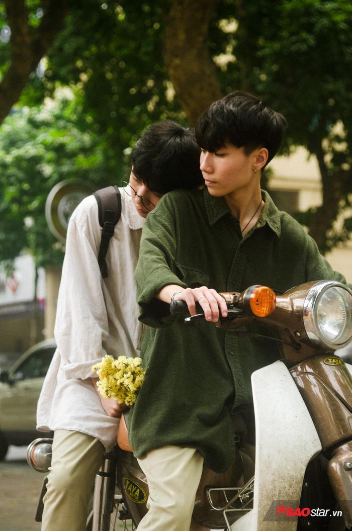 Chuyện tình 'yêu nhau từ cái nhìn đầu tiên' của hai chàng đồng tính: 1/4 là ngày nói dối, nhưng lòng anh thích em là thật! ảnh 11