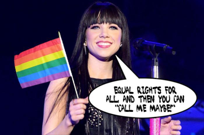 Nghĩa cử tuyệt đẹp Carly Rae Jepsen dành cho cộng đồng LGBTQ: Bạn đã nghe qua?