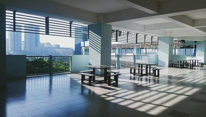 Cơ sở vật chất hiện đại, xanh – sạch đẹp chuẩn quốc tế của ĐH Tôn Đức Thắng thể hiện rõ qua ảnh của bạn Lê Thanh Vũ