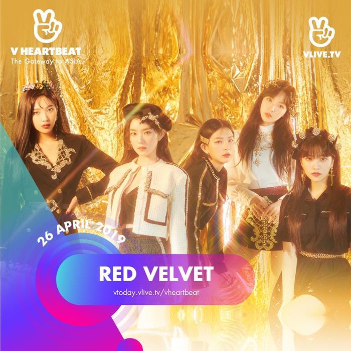thì Red Velvet chính là girlgroup Kpop tiếp theo sẽ xuất hiện tại Việt Nam trong đêm nhạc V Heartbeat tới đây.