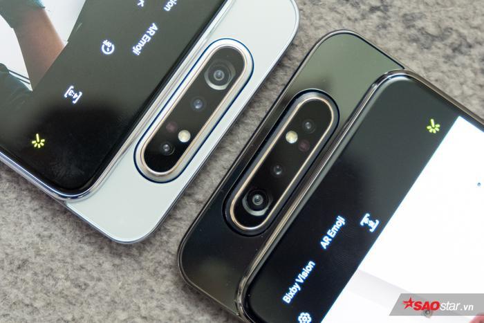 Hệ thống 3 camera này bao gồm: một camera chính 48 MP, khẩu độ F/2.0, camera góc rộng 8 MP, khẩu độ F/2.2 có góc rộng lên đến 123 độ và một camera đo độ sâu trường ảnh.