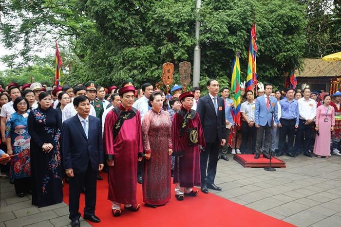 Chủ tịch UBND tỉnh Phú Thọ đọc Chúc văn khẳng định ngày Giỗ Tổ Hùng Vương là ngày Quốc Giỗ, ca ngợi công lao các Vua Hùng
