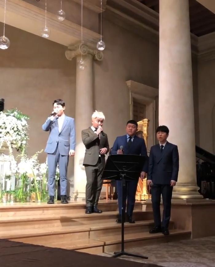 Đám cưới Lee Yong Jin: Cô dâu giống Yoo In Na, Super Junior  Yoo Jae Suk và nhiều sao tham dự ảnh 6