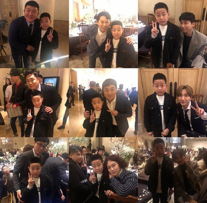 Đám cưới Lee Yong Jin: Cô dâu giống Yoo In Na, Super Junior  Yoo Jae Suk và nhiều sao tham dự ảnh 19