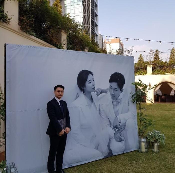 Bức ảnh hiếm hoi của Uhm Bo Ah được lộ diện.
