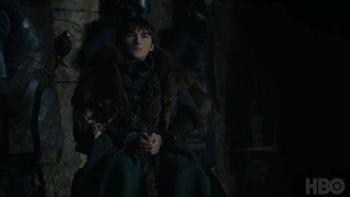 Bran luôn dành cho y ánh mắt vô hồn nhưng đầy lạnh lẽo.