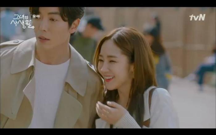 Nhờ Seon Joo về trước mà có thời gian riêng bên nhau.