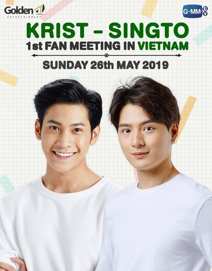 Cặp đôi thần tượng châu Á Krist  Singto chuẩn bị tổ chức fanmeeting ở Việt Nam ảnh 10
