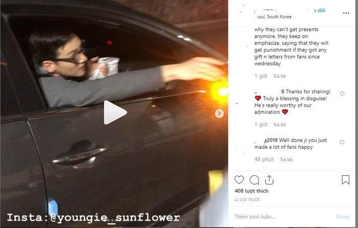 Phản ứng của K-net khi báo Hàn, công ty quản lý nói về việc Ji Chang Wook trả đồ và viết thư tay cho fan Việt Nam ảnh 1