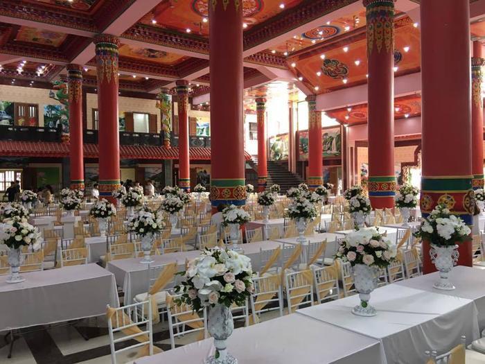 Đám cưới dài ngày nhất từ trước đến nay được tổ chức quy mô.