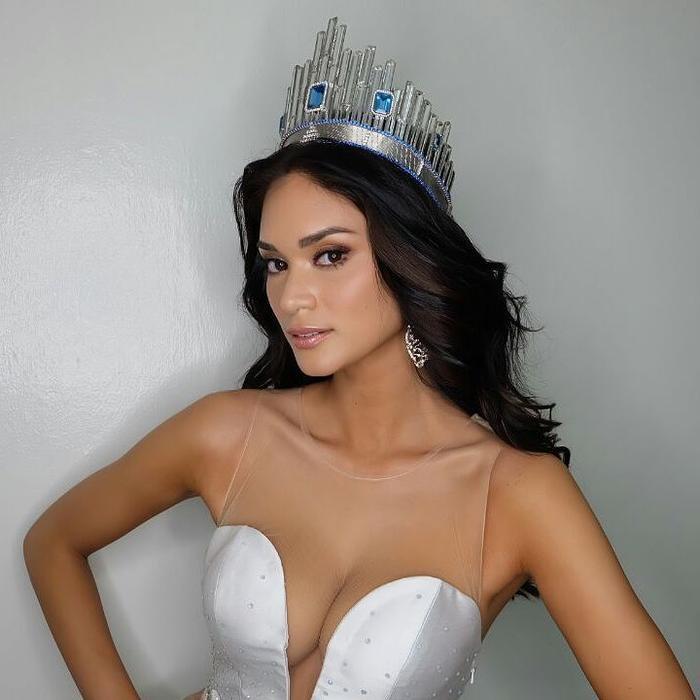Hoa hậu có vòng 1 khủng nhất lịch sử Miss Universe, số đo lên tới 103cm ảnh 16