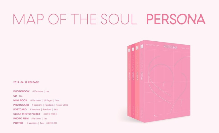 Album Map Of The Soul: Persona.