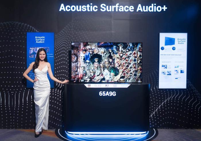 Mẫu OLED A9G phiên bản 65 inch của Sonyđược trang bị chế độ Netflix Calibrated Mode kết hợp công nghệ Dolby Vision/Dolby Atmos, giúp người dùng trải nghiệm kho phim chất lượng cao của dịch vụ Netflix.