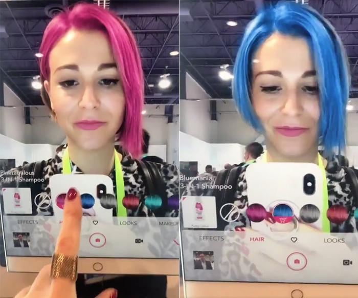 Người dùng có thể thoả thích chọn giữa tóc đỏ tóc đỏ, tóc xanh,… hay bất cứ màu mình yêu thích.