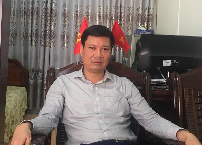 Ông Bùi Minh Tuân, Trưởng Phòng GD&ĐT huyện Bảo Yên.