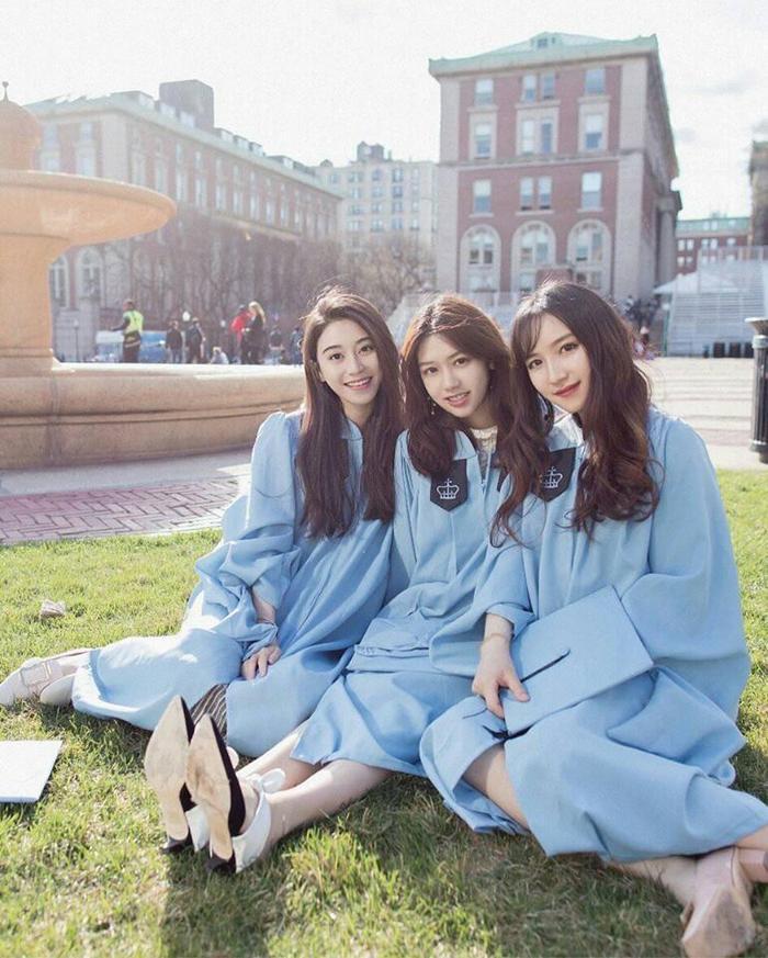 Kim My nổi bật bên bạn bè quốc tế