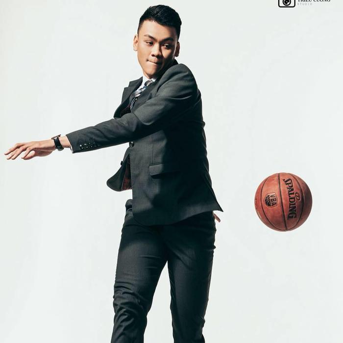 Xuân Quốc là cầu thủ bóng rổ xuất sắc của làng bóng rổ Việt