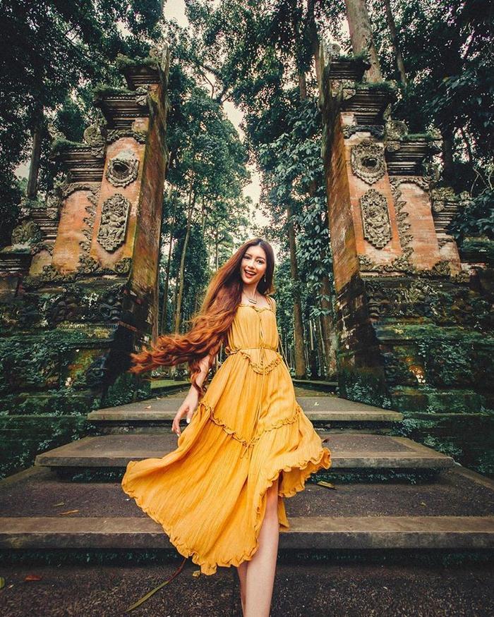 Công chúa tóc mây gốc Việt Sarah Trần