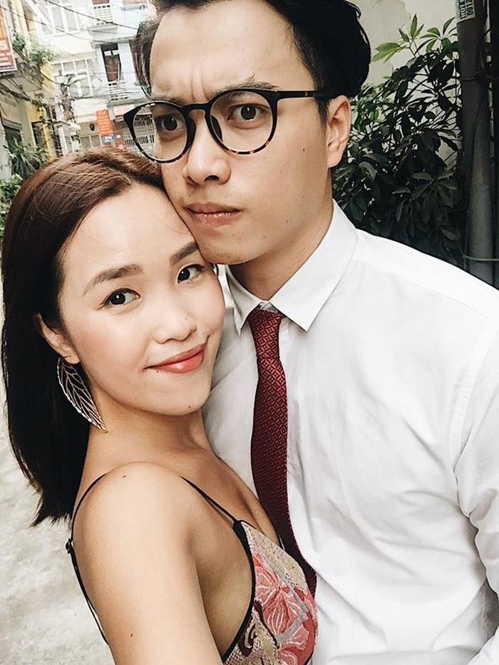 Cặp đôi Hà My - Đức Kiên thời còn mặn nồng