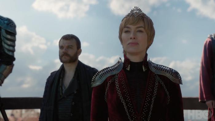 Cersei không hề sợ sệt trước trận chiến cuối cùng.