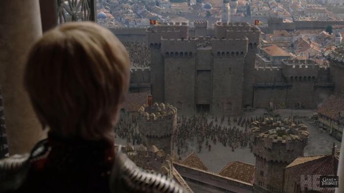 Cersei cũng đã chuẩn bị kĩ lưỡng cho trận chiến.