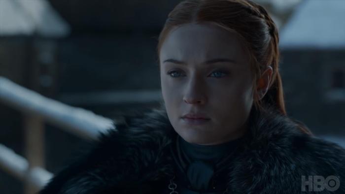 """Sansa """"ngũ vị tạp trần"""" sau trận đại chiến Winterfell."""