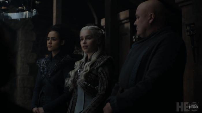 Daenerys tập trung cho trận chiến cuối cùng.