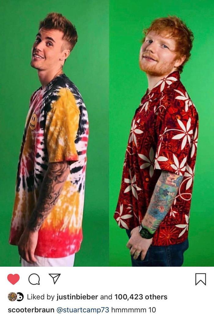 Việc làm dạn dĩ này có vẻ như khiến cho Justin của chúng ta khá thích thú.