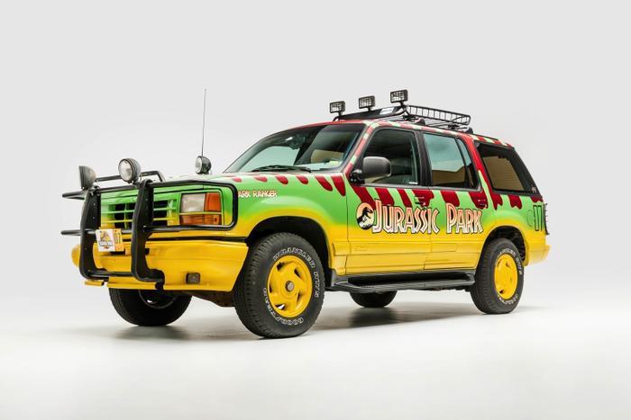 Ford Ranger trong 'Jurassic Park'