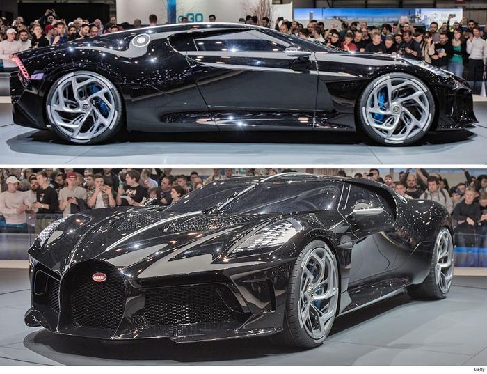 Bugatti La Voiture Noire là một trong những siêu xe đắt giá nhất thế giới.