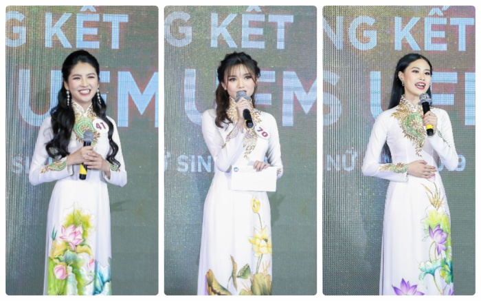 Mãn nhãn đêm chung kết Miss UFM với ngôi vị cao nhất thuộc về nữ sinh Lâm Đồng ảnh 8