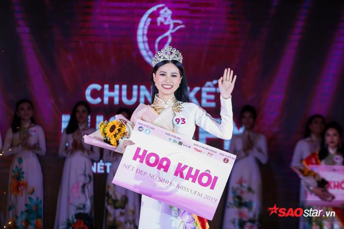 Mãn nhãn đêm chung kết Miss UFM với ngôi vị cao nhất thuộc về nữ sinh Lâm Đồng ảnh 11