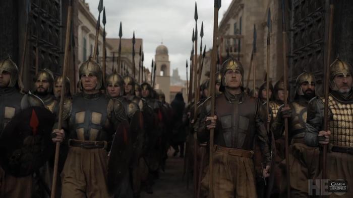 Hội Chiến binh Vàng là bức tường khó vượt qua của King's Landing.