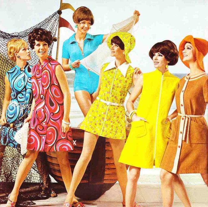 Ở những năm 1960 đón nhận hàng loạt điều mới mẻ nở rộ, song vẫn giữ lại nét thanh lịch.