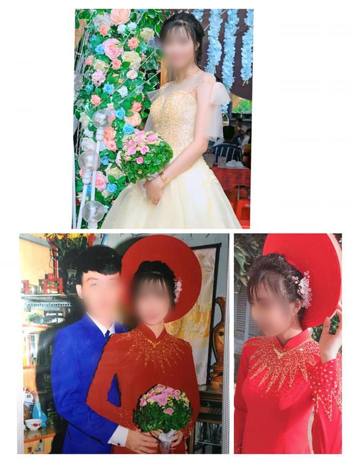 Cô dâu cho biết, ảnh trên và ảnh chụp một mình là được chụp bằng điện thoại.