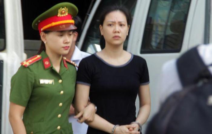 Bị cáo Nguyễn Thu Huyền. Ảnh: Công an Nhân dân