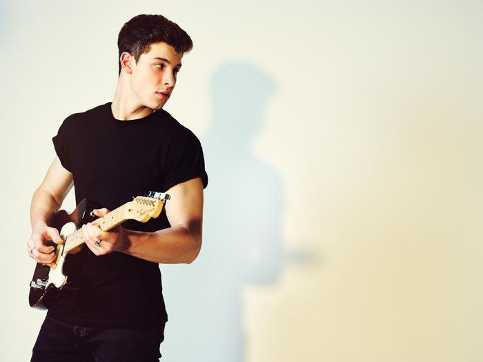 Shawn Mendes lần đầu ghi dấu ấn trong lòng khán giả bằng những đoạn clip 6 giây khoe giọng hát và tài đánh đàn của mình.