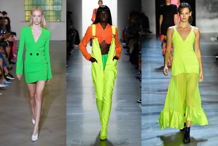 Cuộc chơi thời trang của Xuân, Hè năm nay là những mảng màu nổi bật, chói chang.