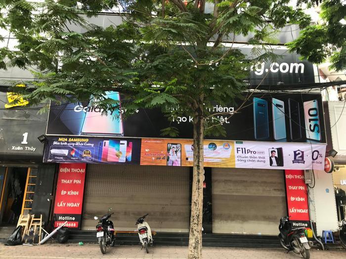 Các cửa hàng của Nhật Cường tại Hà Nội đồng loạt đóng cửa.