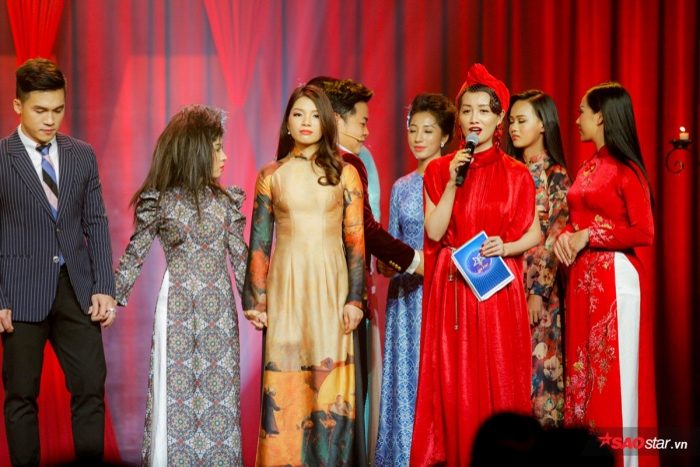 Các thí sinh được gọi tên lần lượt là: Trọng Hải - Hồng Linh - Như Hoa…