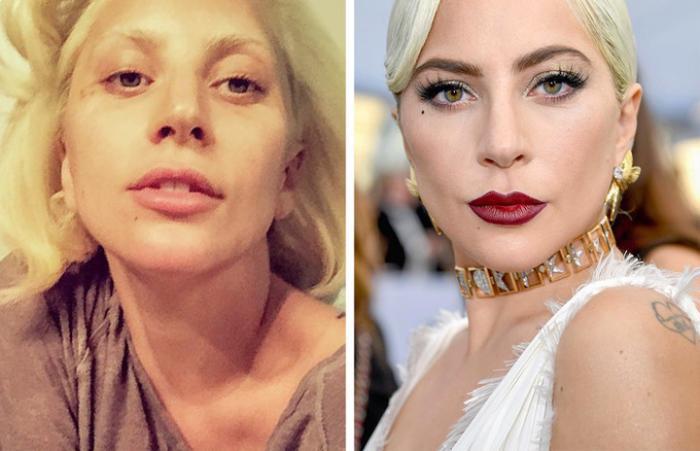 Siêu sao Hollywood trút bỏ son phấn: Lady Gaga xơ xác, Rihanna lộ mặt thô nhưng Kesha mới thảm hại'