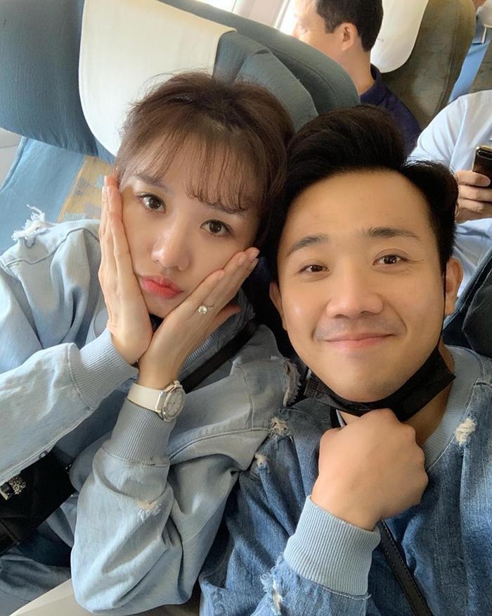 Hari Won và Trấn Thành chụp ảnh cùng nhau, cư dân mạng chú ý tới điều này ảnh 0