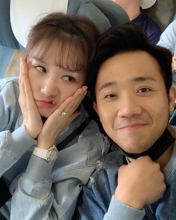 Hari Won và Trấn Thành chụp ảnh cùng nhau, cư dân mạng chú ý tới điều này ảnh 2