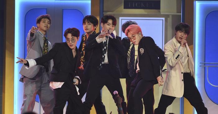 Nhóm nhạc BTS dẫn đầu BXH thương hiệu boygroup tháng 5.