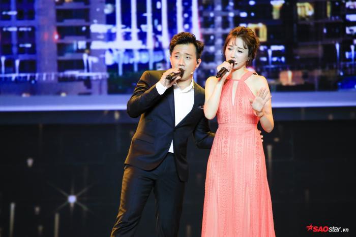 Đã lâu Trấn Thành và Hari Won mới có dịp xuất hiện cùng nhau.