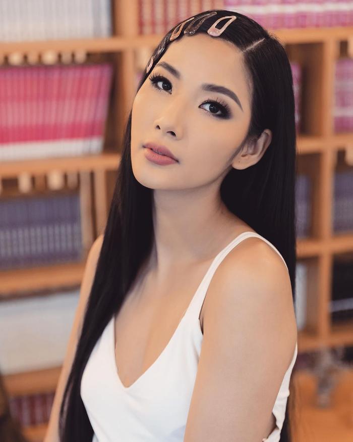 Hoàng Thùy tăng cân với sắc vóc chuẩn beauty queen.