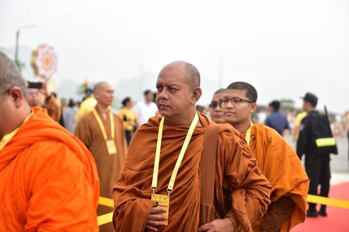 Nhiều đoàn đại biểu đến từ các nước trên thế giới về chùa Tam Chúc dự Đại lễ.
